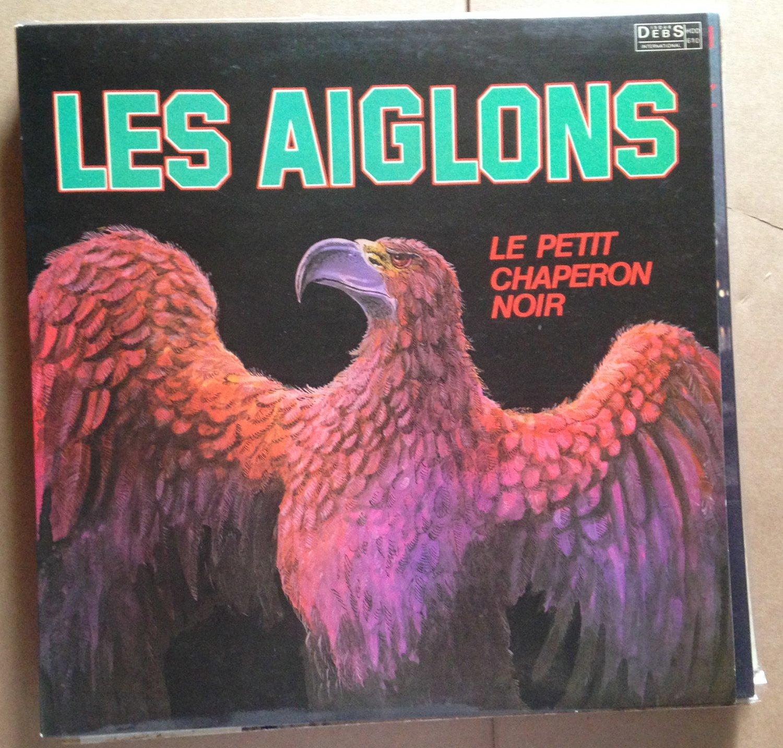 LES AIGLONS LP le petit chaperon noir WEST INDIES DEBS
