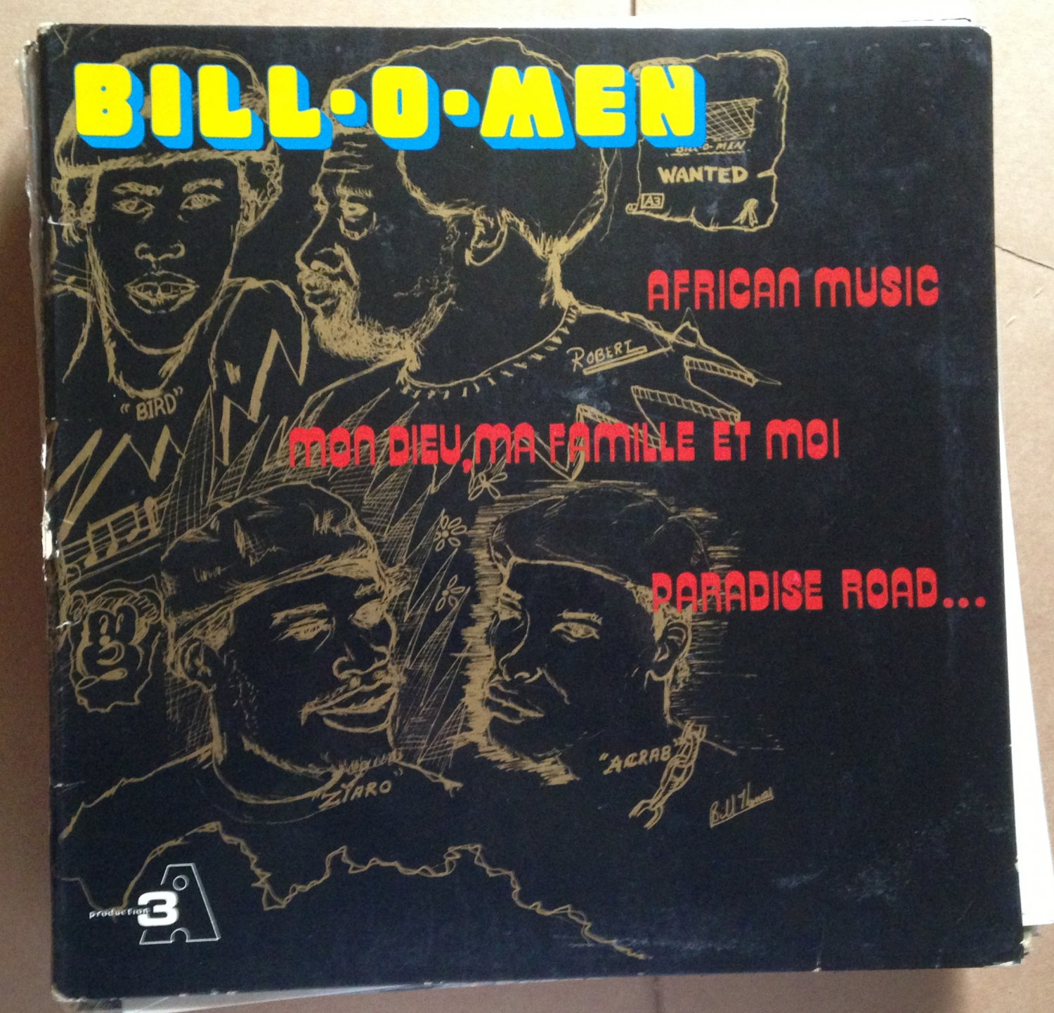 BILL O MEN LP african music WEST INDIES CARIBBEAN mp3