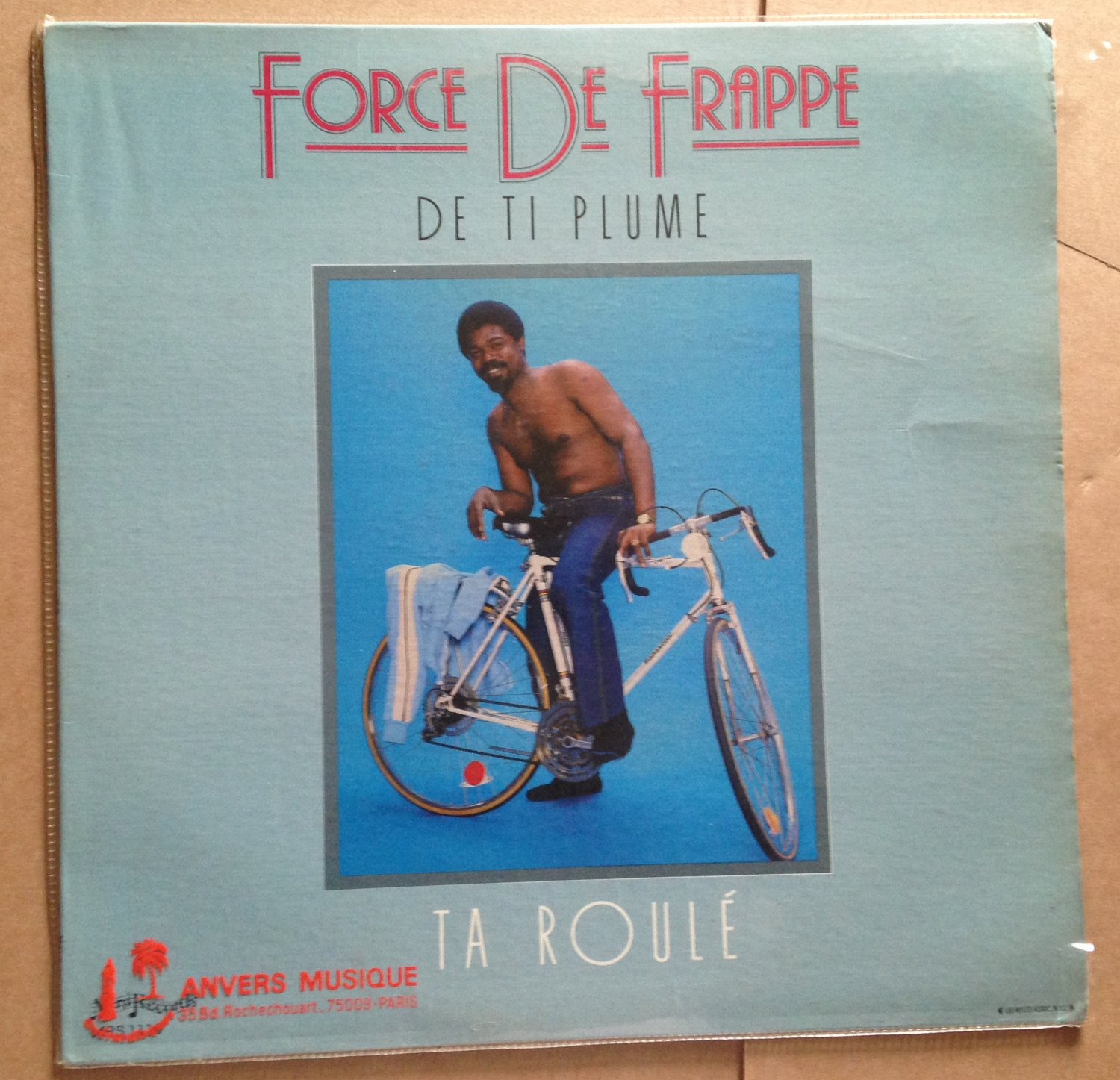 FORCE DE FRAPPE LP de ti plume MINI RECORDS HAITI KOMPAS