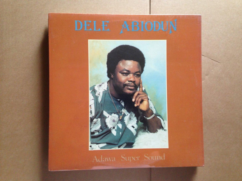 DELE ABIODUN LP adawa super sound NIGERIA AFRO FUNK SEALED