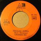 GRAMACKS 45 reggae down - wooy midebar WEST INDIES REGGAE CADENCE