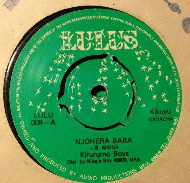 KIRURUMO BOYS 45 njohera baba - mwendwa LULUS
