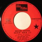 MICHAEL JACKSON 45 rockin' robin - love is here & now you're gone MOTOWN FR