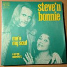 STEVE'N BONNIE 45 me'n my soul SWEDISH SOUL PS FR SOVEREIGN
