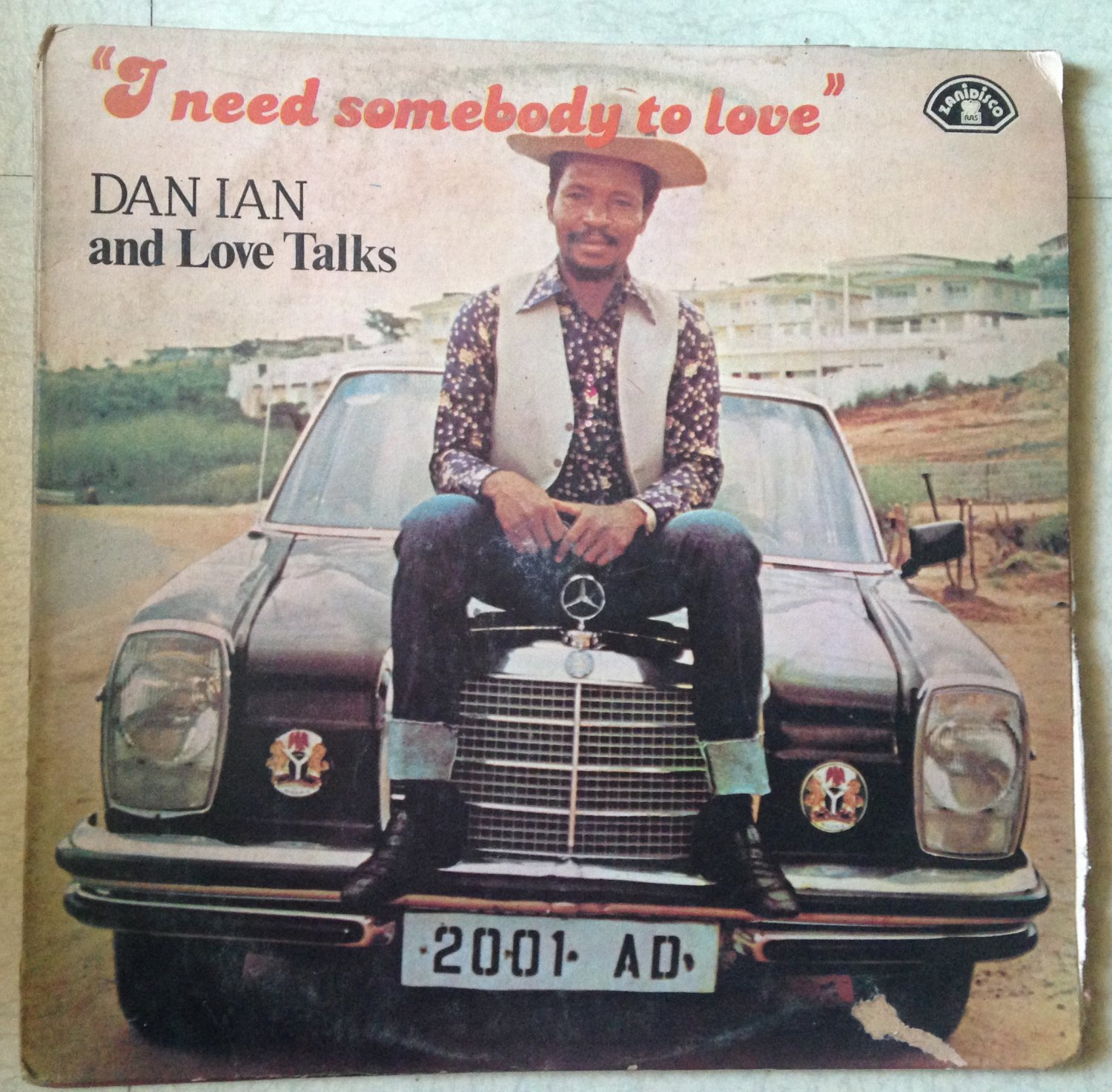 DAN IAN and THE LOVE TALKS LP i need somebody to love NIGERIA AFRO DISCO ZANIDISCO mp3 LISTEN