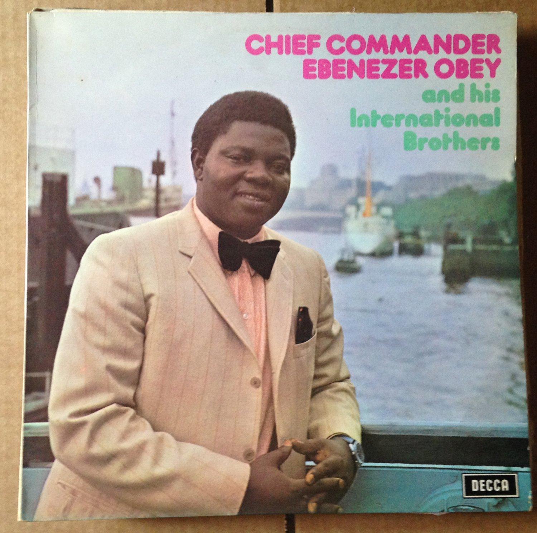 CHIEF COMMANDER EBENEZER LP vol. 3 NIGERIA 1972 mp3 LISTEN