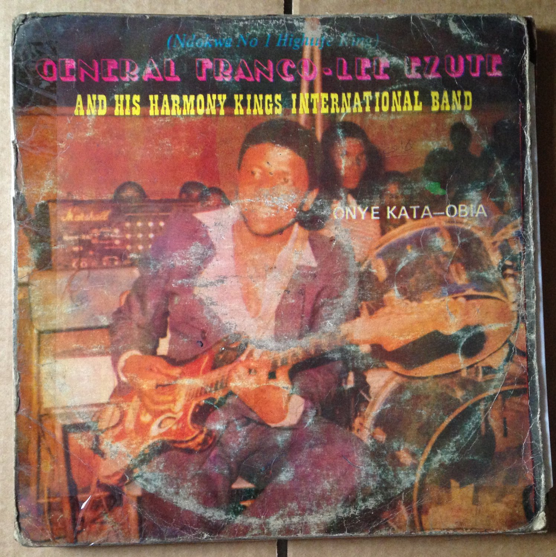 FRANCO LEE EZUTE & HARMONY KINGS LP onye kata HIGHLIFE NIGERIA mp3 LISTEN