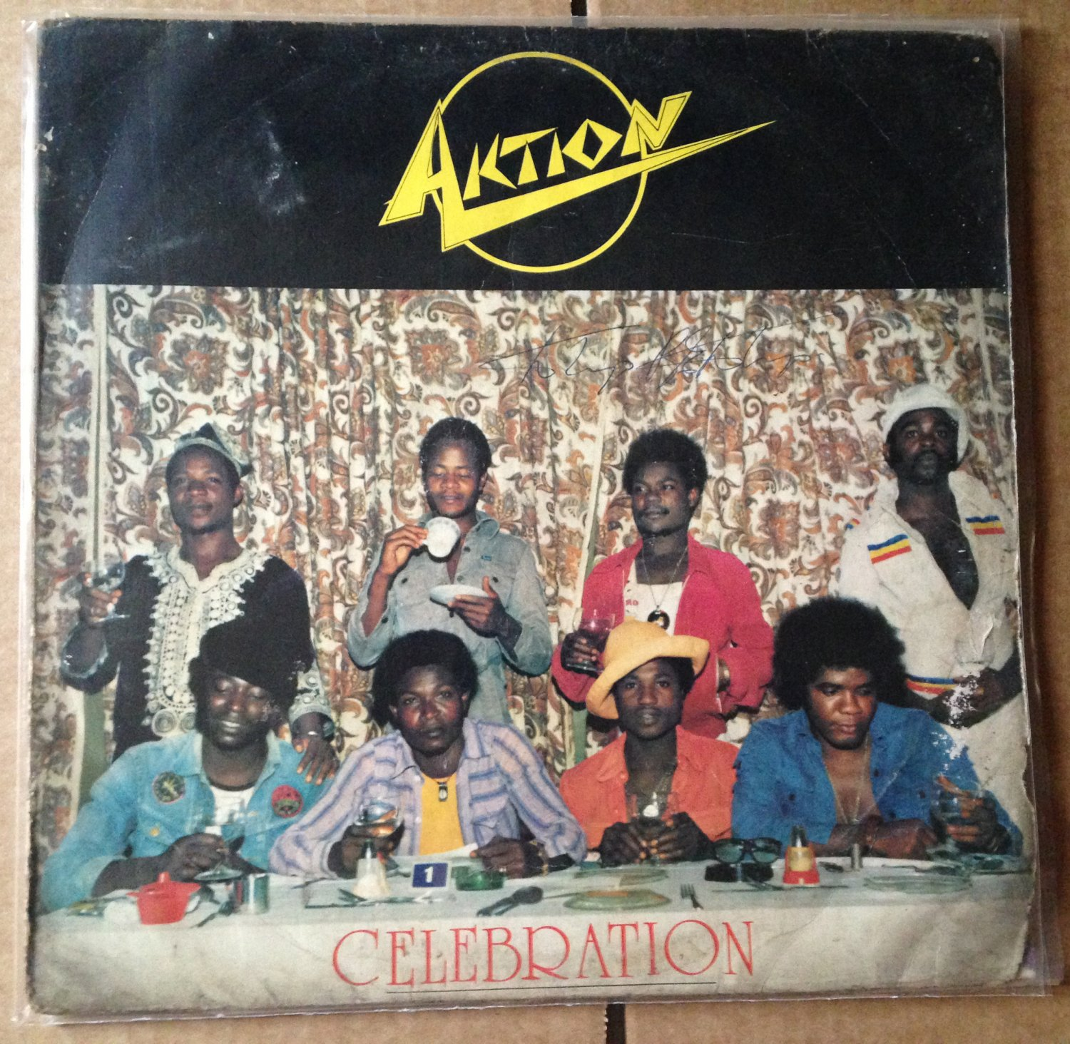 AKTION LP celebration AFRO FUNK PSYCH ULTRA RARE mp3 LISTEN