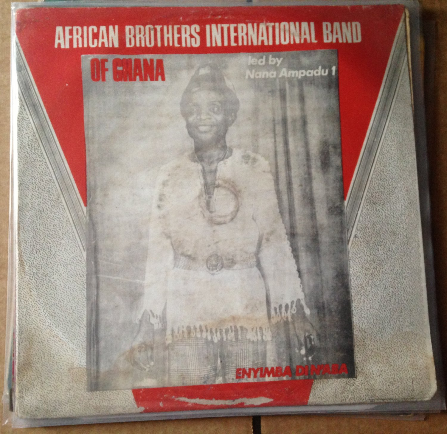 AFRICAN BROTHERS INTERNATIONAL BAND LP enyimba din'aba GHANA HIGHLIFE mp3 LISTEN