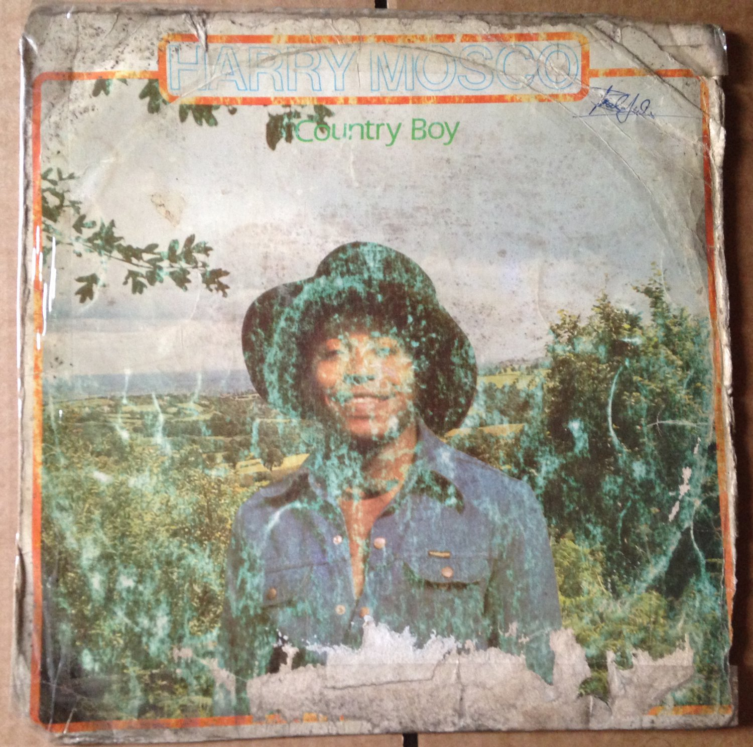 HARRY MOSCO LP country boy NIGERIA AFRO FUNK mp3 LISTEN