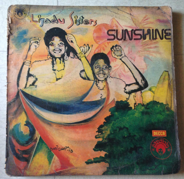 LIJADU SISTERS LP sunshine AFRO FUNK DISCO REGGAE NIGERIA