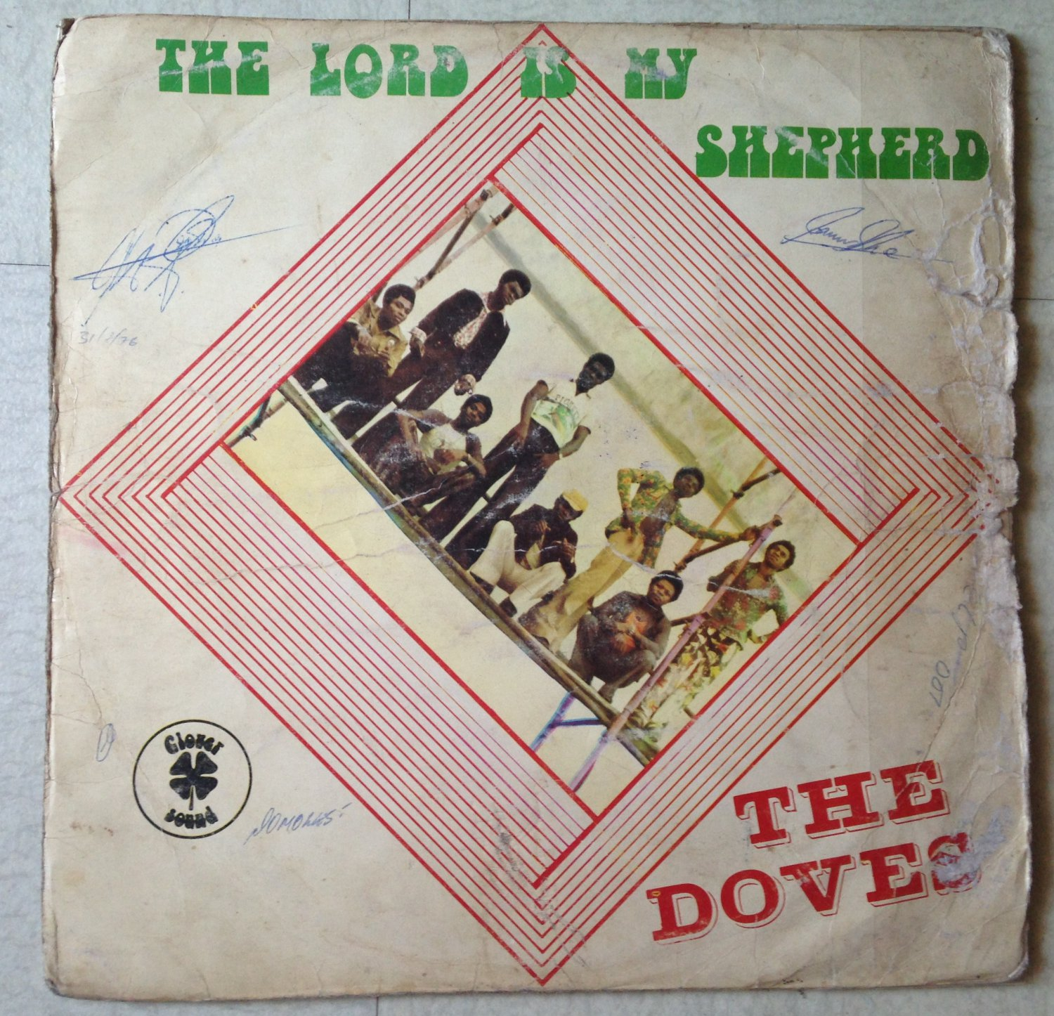 THE DOVES LP the Lord is my sepherd AFRO FUNK PSYCH NIGERIA mp3 LISTEN