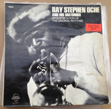 RAY STEPHEN OCHE LP interpretation of original rhythm AFRO FUNK AFRO JAZZ ORG mp3 LISTEN