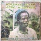 ATAKORA MANU LP afro highlife GHANA AFRO PSYCH mp3 LISTEN