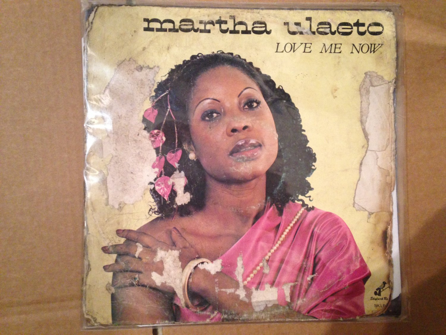 MARTHA ULAETO LP love me now AFRO BOOGIE FUNK DISCO NIGERIA mp3 LISTEN