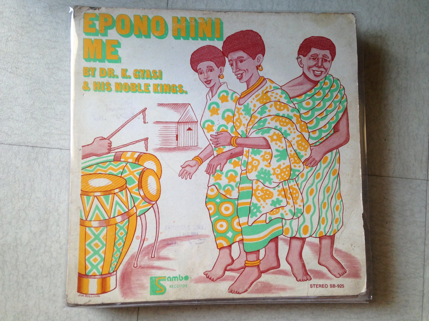 DR K GYASI & HIS NOBLE KINGS LP epono hini me GHANA mp3 LISTEN
