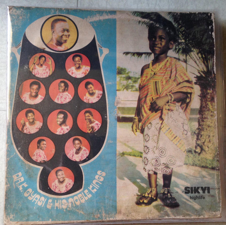 DR K GYASI & HIS NOBLE KINGS LP sikyi highlife GHANA mp3 LISTEN
