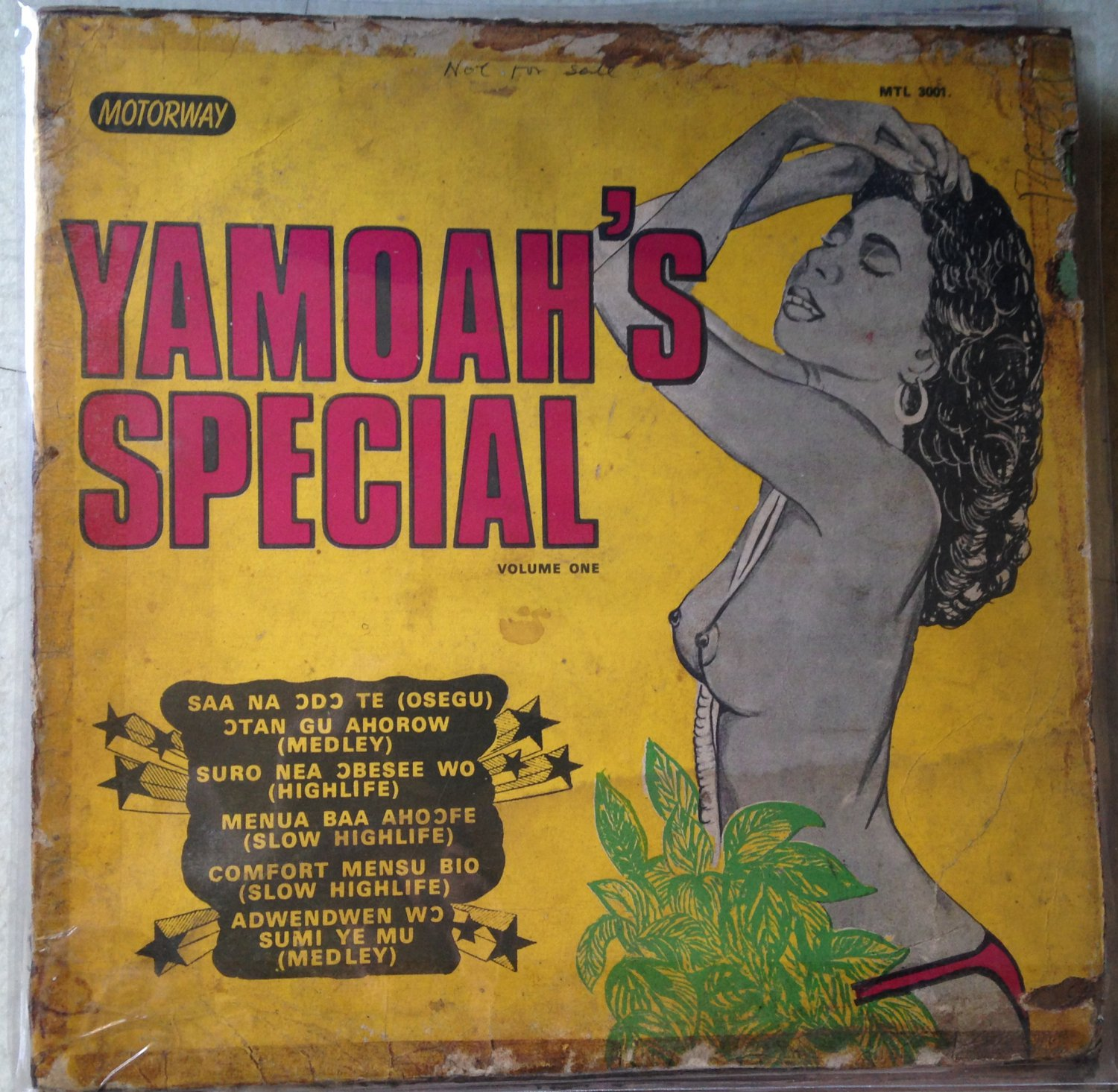 YAMOAH'S SPECIAL LP volume one GHANA HIGHLIFE mp3