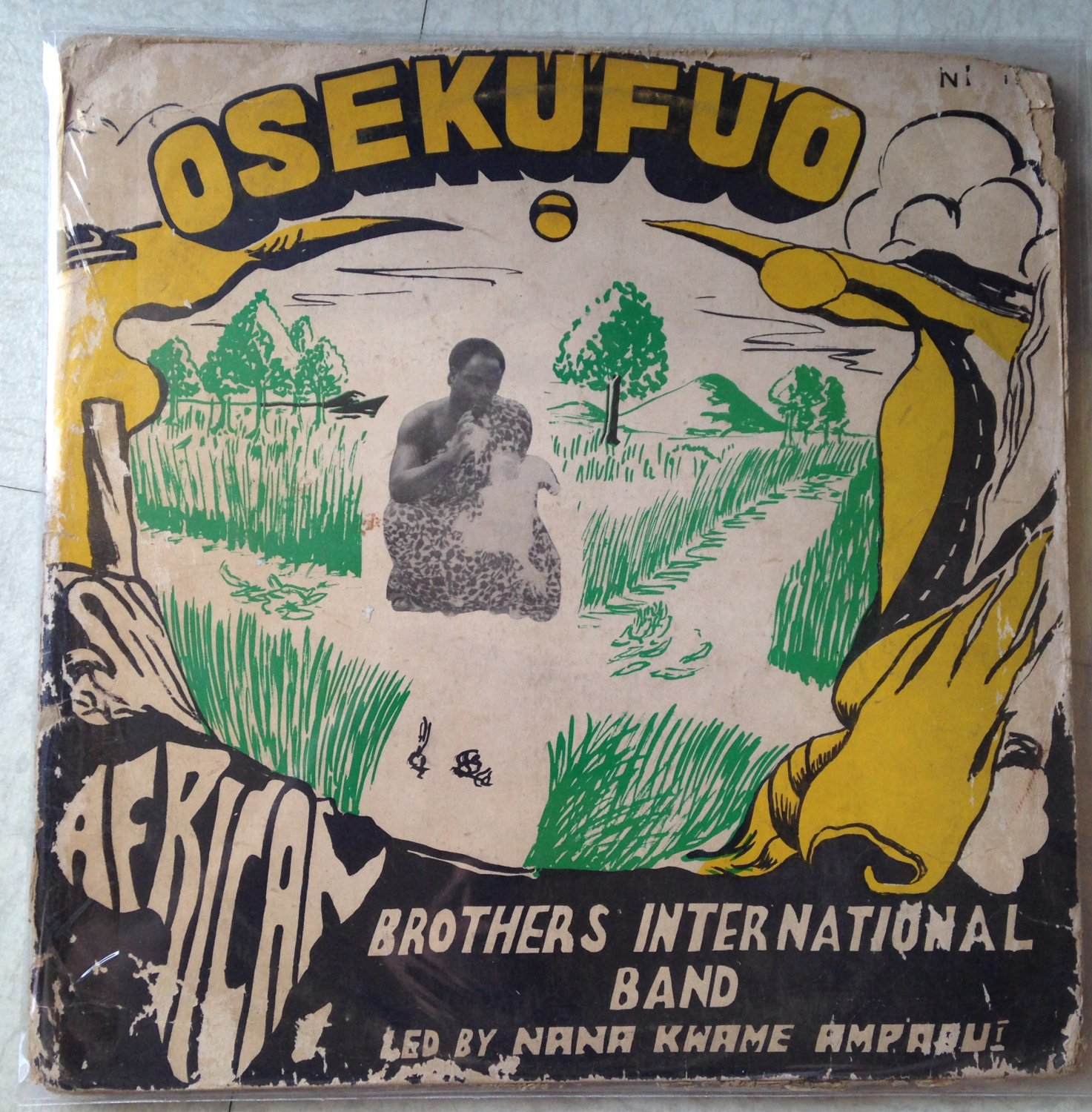 AFRICAN BROTHERS INTERNATIONAL LP osekufuo GHANA mp3 LISTEN
