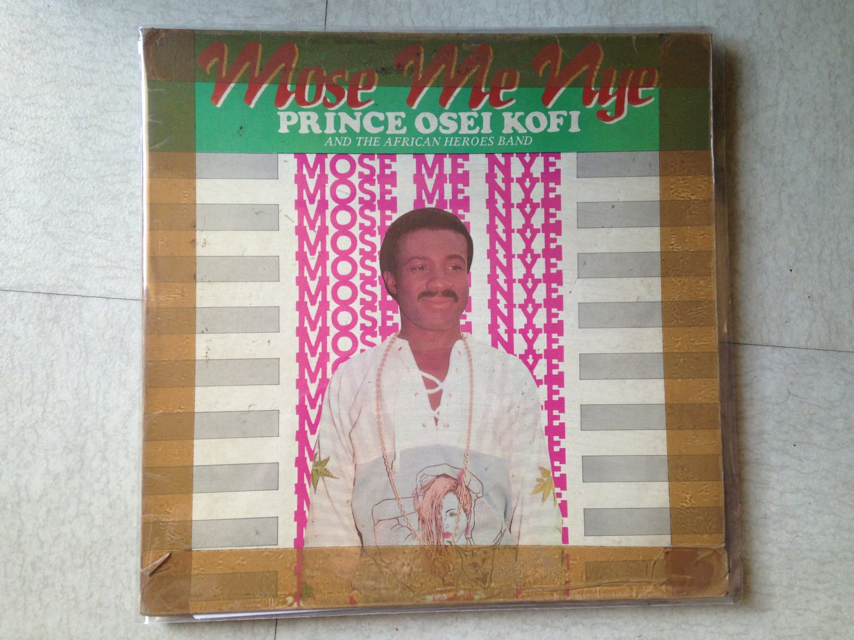 PRINCE OSEI KOFI & THE BLACK HEROES BAND LP mose me nye GHANA mp3 LISTEN