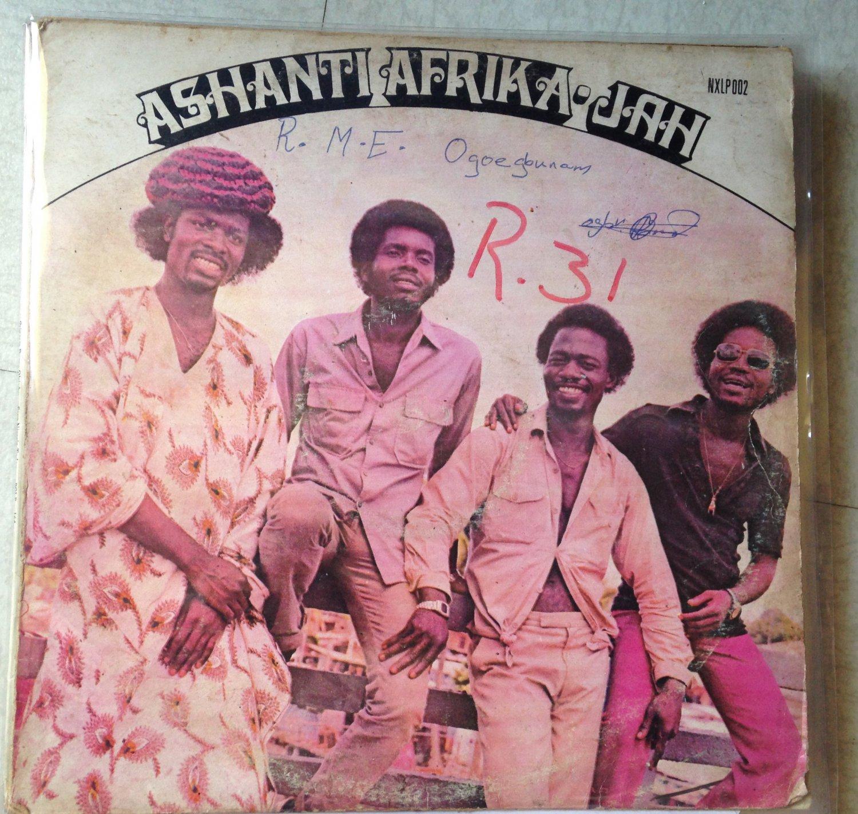 ASHANTI AFRIKA JAH LP same GHANA mp3 LISTEN