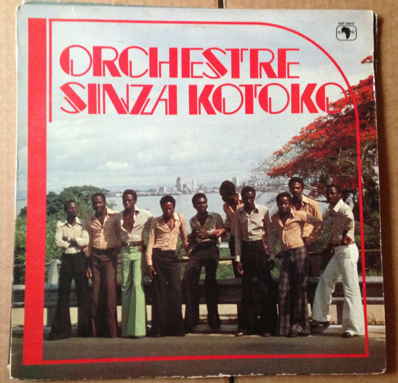 ORCHESTRE SINZA KOTOKO LP basi bakeseny SONAFRIC CONGO mp3 LISTEN
