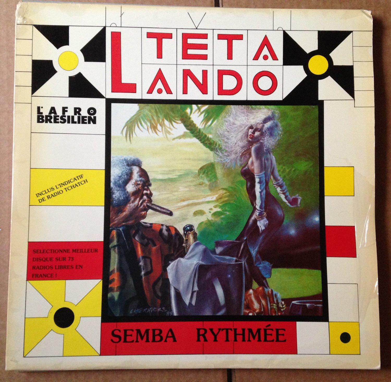 TETA LANDO LP semba rythmee ANGOLA FUNKY AFRO BRAZIL BREAK mp3 LISTEN