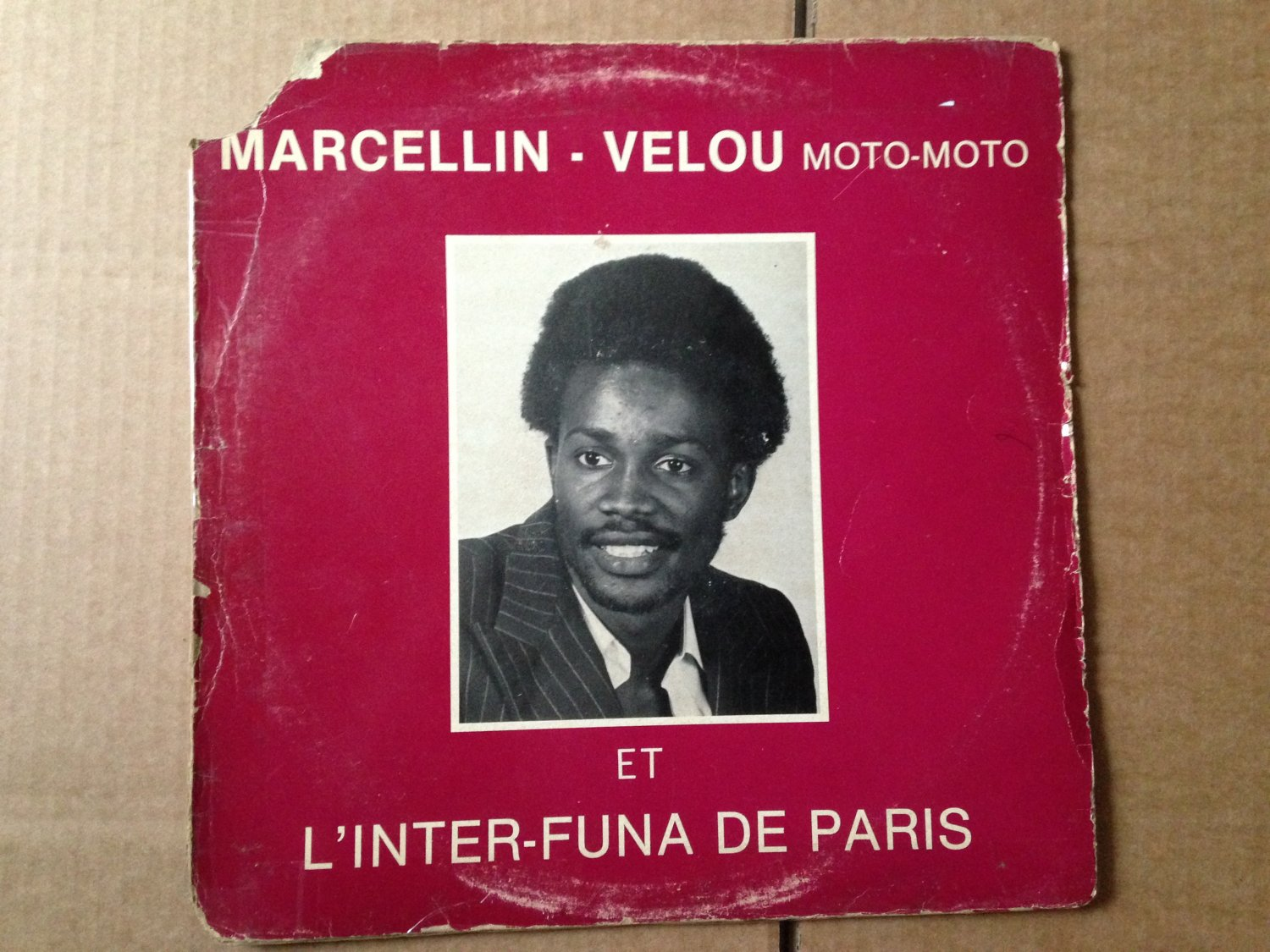 MARCELLIN VELOU & INTER FUNDA DE PARIS LP ngai na ye CONGO mp3 LISTEN