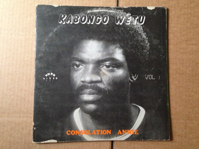 KABONGO WETU LP consolation annie CONGO SOUKOUS mp3 LISTEN
