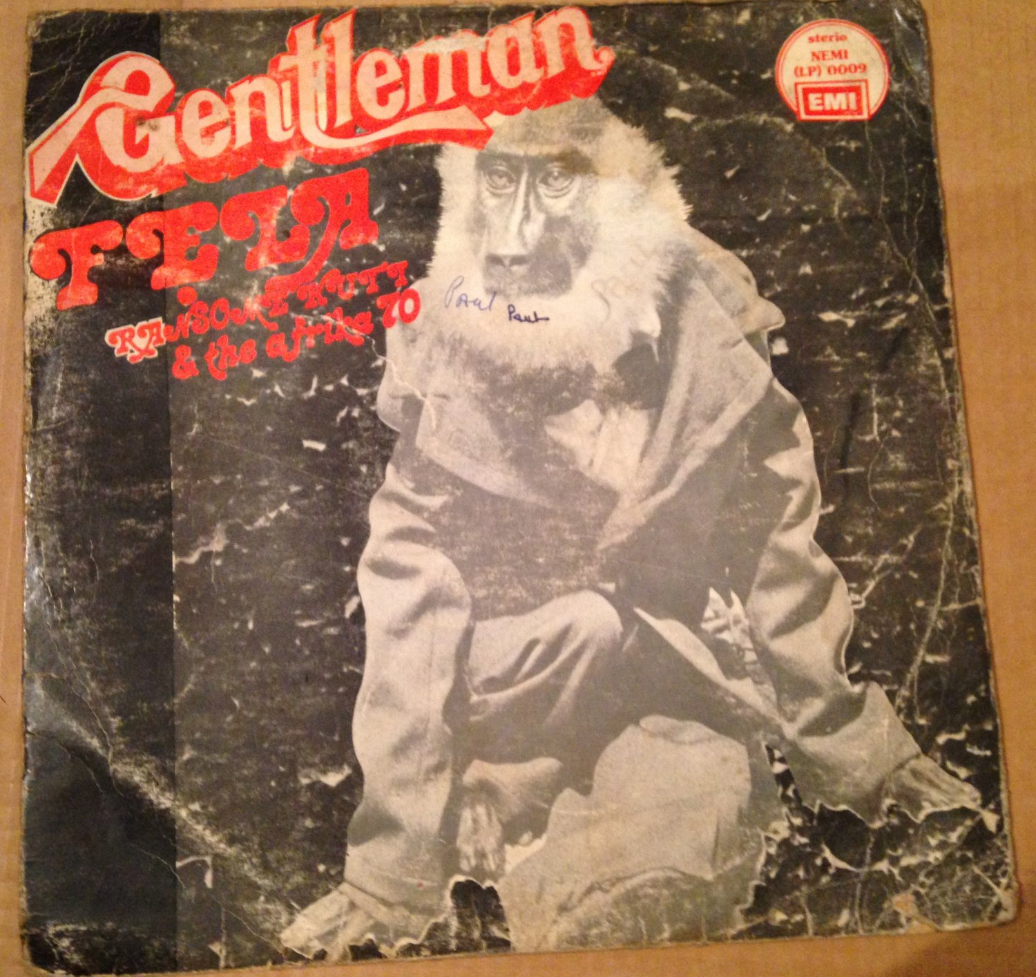 FELA LP gentleman AFRO BEAT NIGERIA mp3 LISTEN
