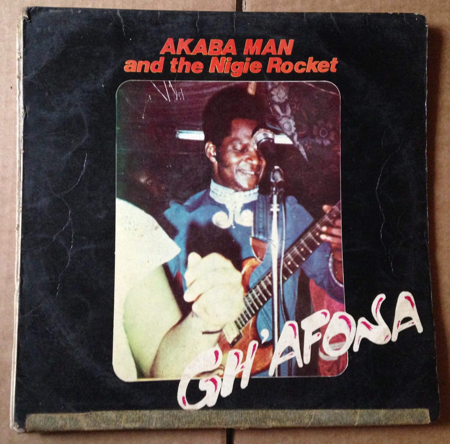 AKABA MAN & THE NIGIE ROCKETS LP gh'afona EDO FUNK NIGERIA mp3 LISTEN