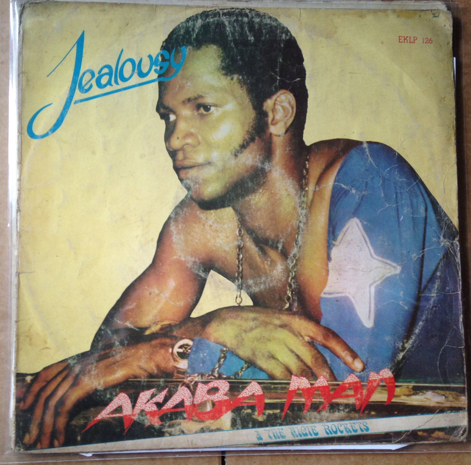 AKABA MAN & THE NIGIE ROCKETS LP jealousy EDO FUNK NIGERIA mp3 LISTEN