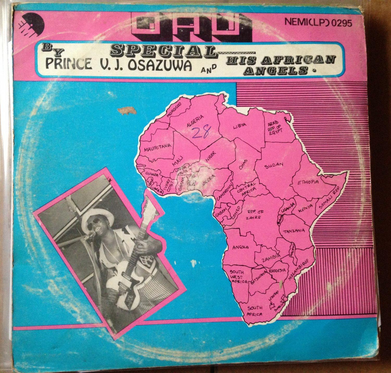 PRINCE V.J. OSAZUWA & HIS AFRICAN ANGELS LP oau NIGERIA SOUKOUS mp3 LISTEN