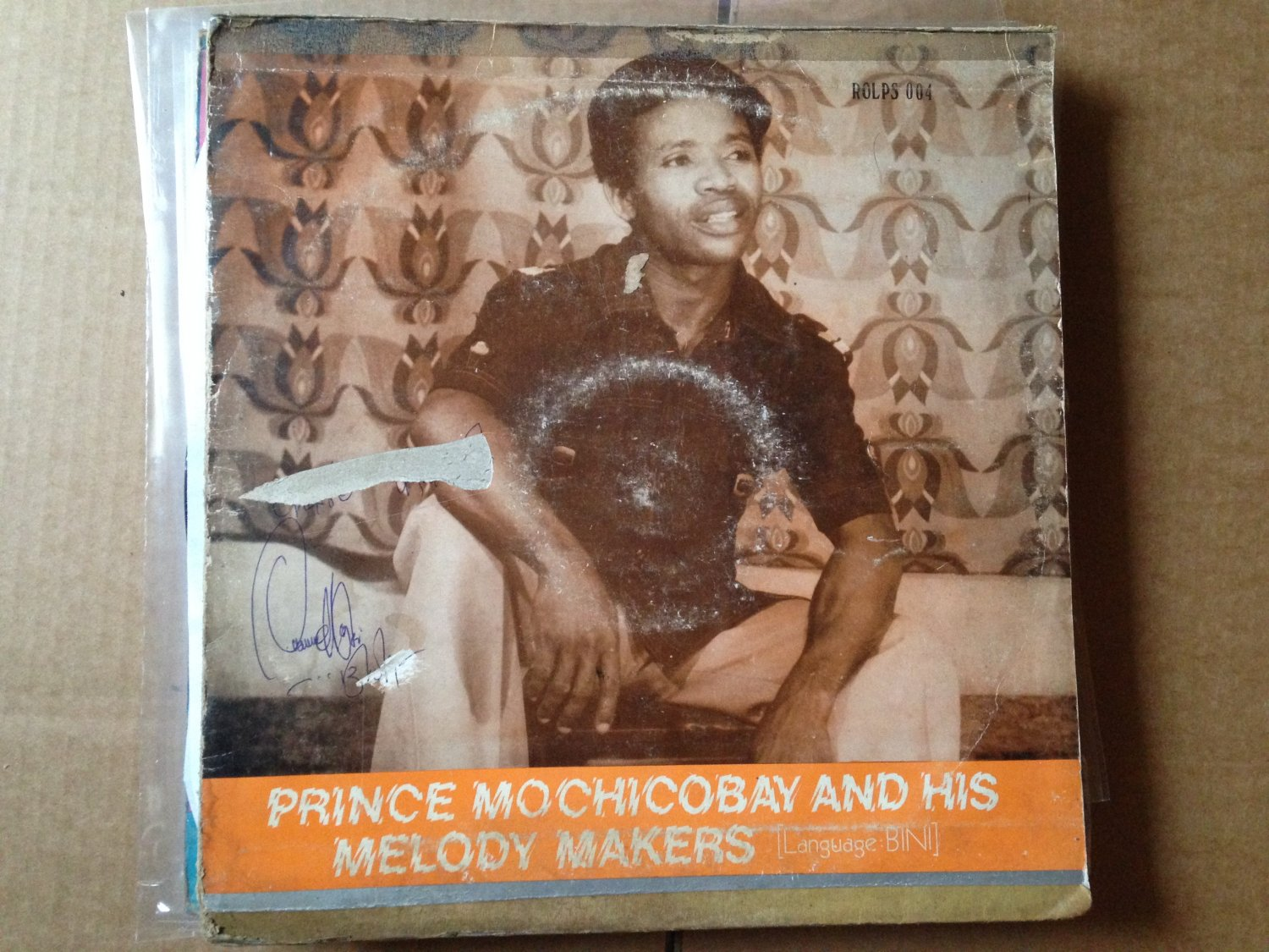 PRINCE MOCHICOBAY & HIS MELODY MAKERS LP FUNKY HIGHLIFE NIGERIA mp3 LISTEN