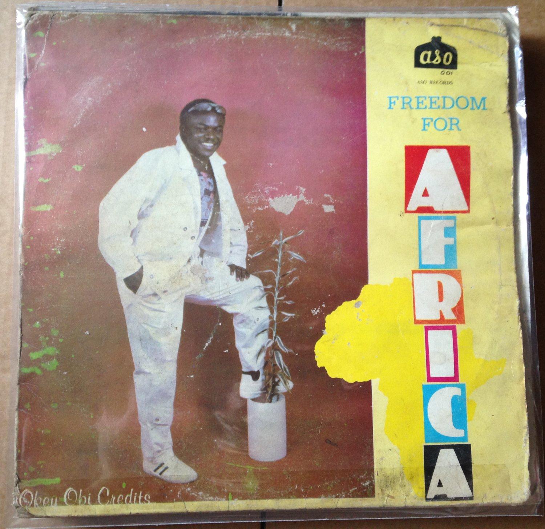 OKEY OBI LP freedom for Africa AFRO BOOGIE FUNK NIGERIA mp3 LISTEN