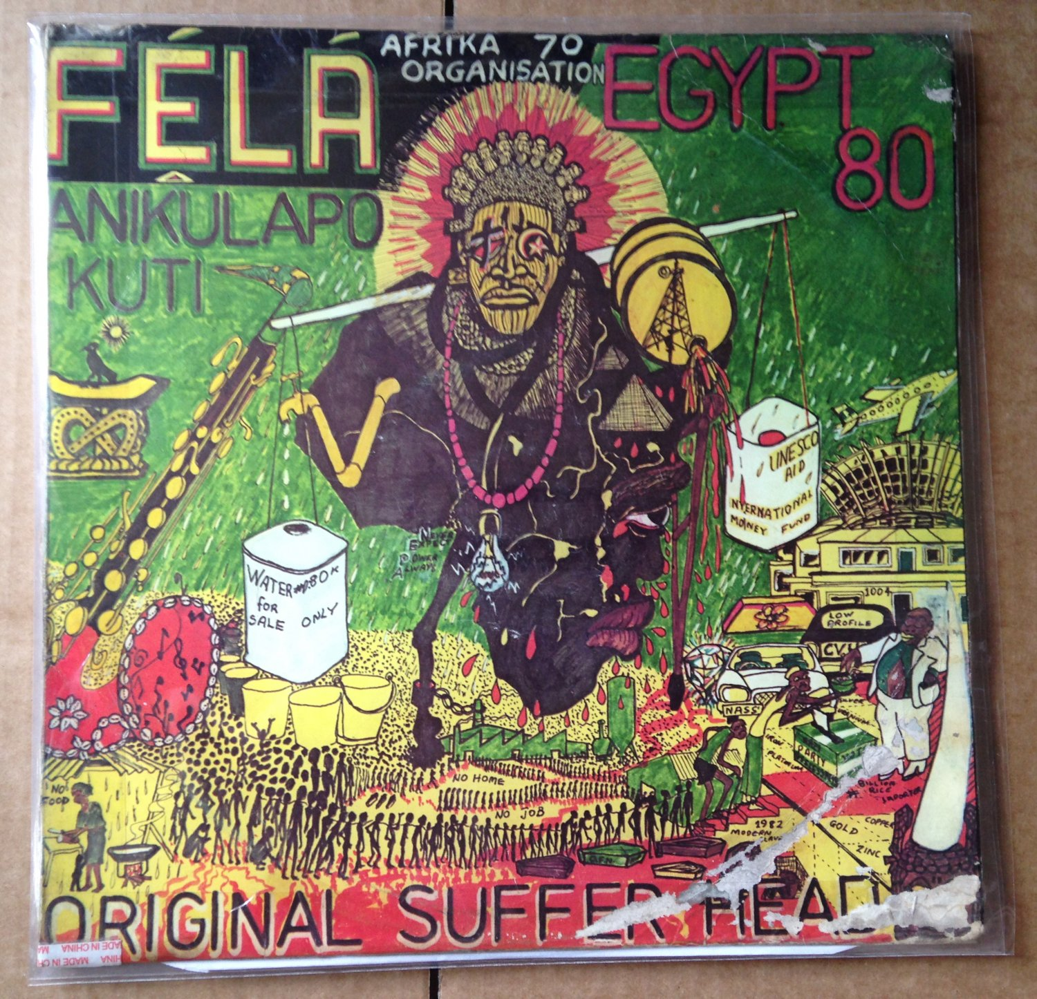 FELA LP original suffer head AFRO BEAT mp3 LISTEN