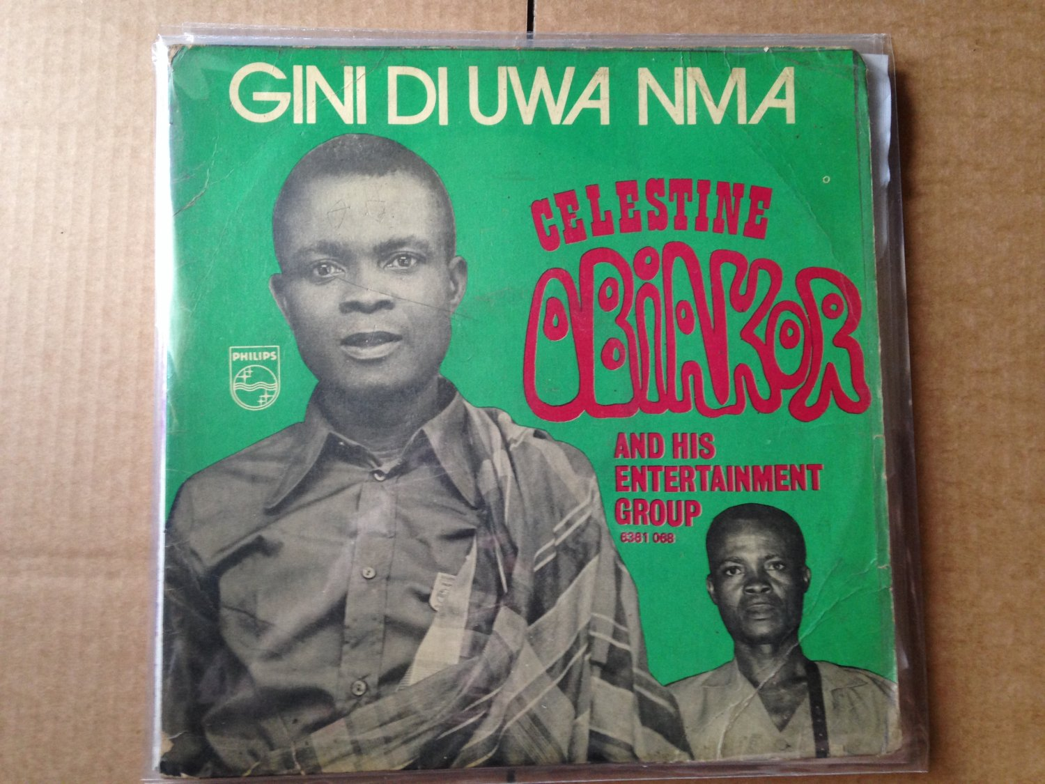 CELESTINE OBIAKOR & HIS ENTERTAINMENT LP gini di uwa nma NIGERIA mp3 LISTEN