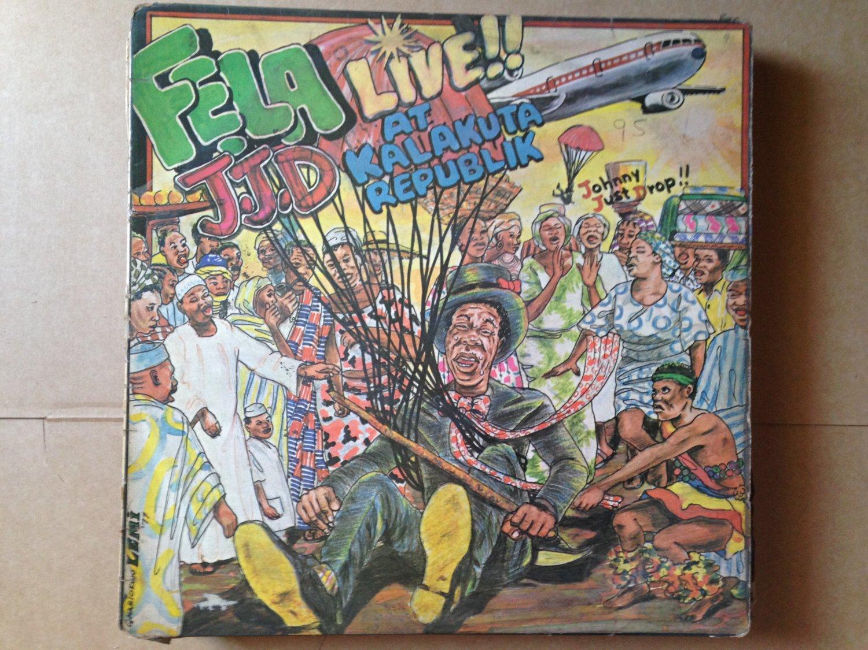 FELA LP JJD live at Kalakuta republik NIGERIA AFRO BEAT mp3 LISTEN