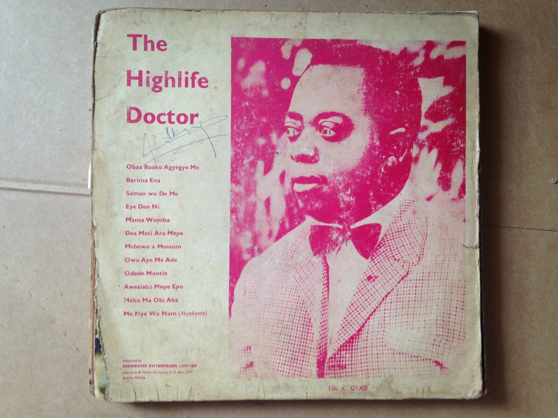 DR K GYASI & NOBLE KINGS LP the highlife doctor DEEP HIGHLIFE GHANA mp3 LISTEN