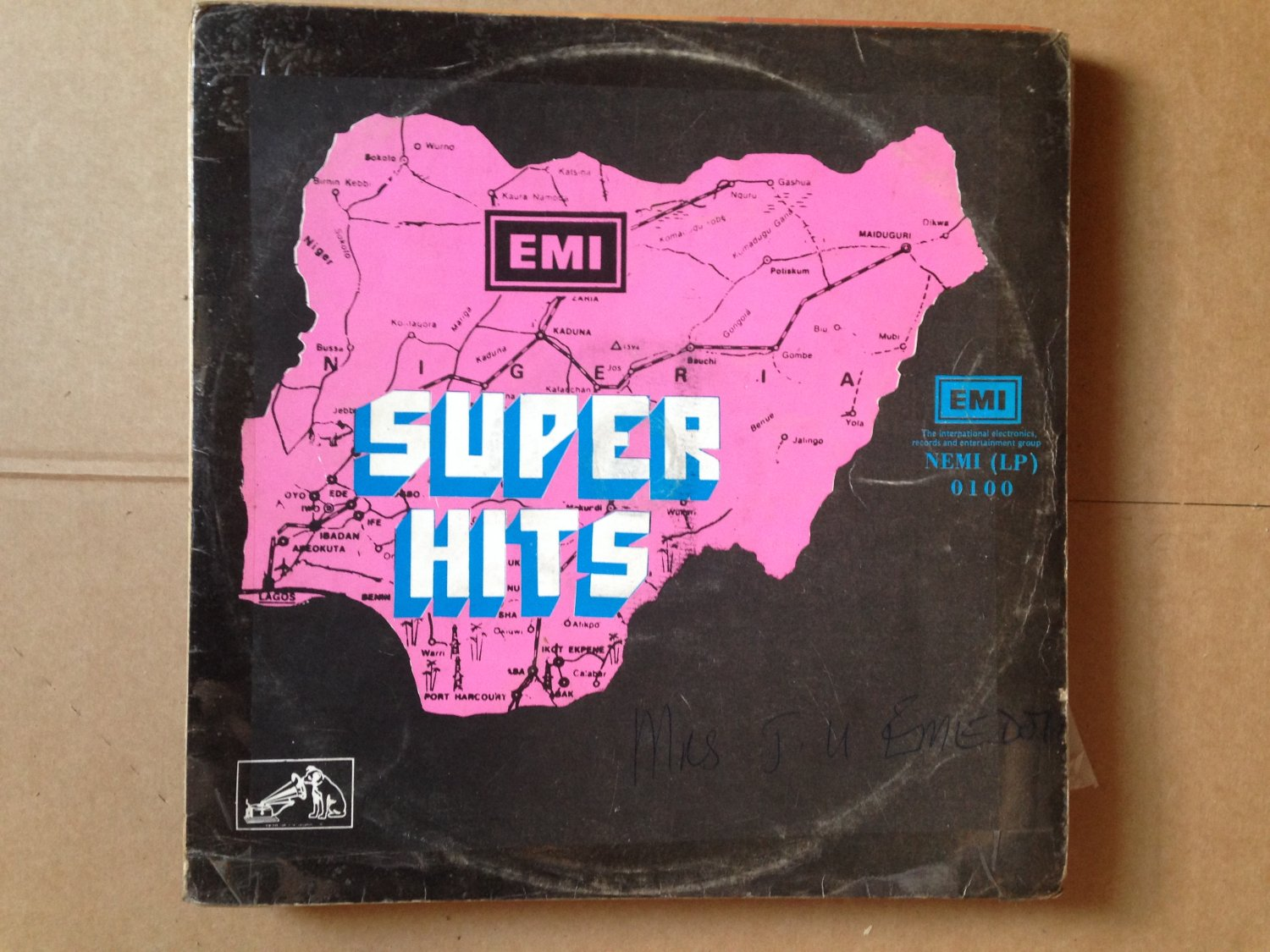 SUPER HITS LP various AFRO FUNK FUNKEES TONY GREY OFEGE mp3 LISTEN