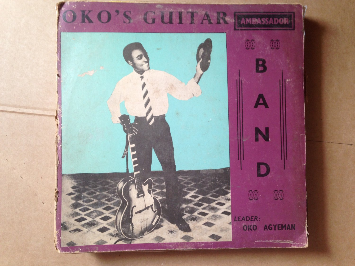OKO'S N°2 GUITAR BAND LP same DEEP HIGHLIFE GHANA mp3 LISTEN