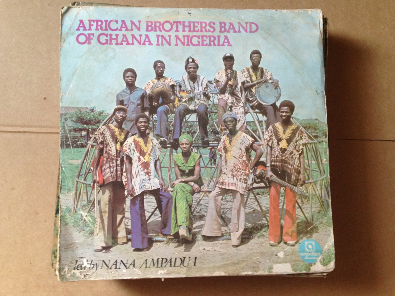 AFRICAN BROTHERS BAND LP obaa dommere HIGHLIFE ORGAN mp3 LISTEN