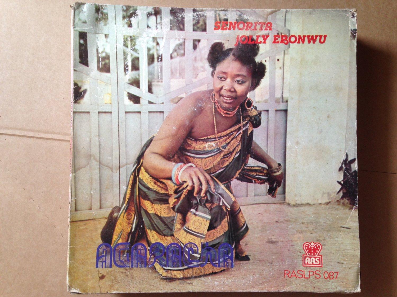 SENORITA JOLLY EBONWU LP agaracha NIGERIA SOUKOUS mp3 LISTEN