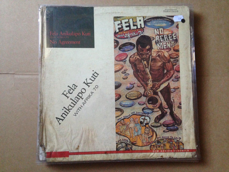 Fela Anikulapo Kuti Lp Perambulator Nigeria Afro Beat Lagos Int Org