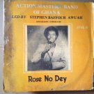 ACTION MASTERS BAND OF GHANA LP rose no dey GHANA HIGHLIFE mp3 LISTEN