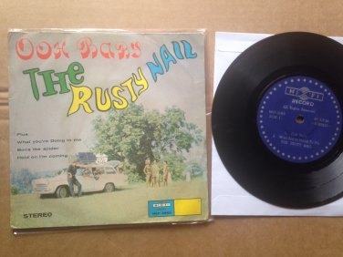 "THE RUSTY NAIL 45 EP 7"" ooh baby ULTRA RARE UK SINGAPORE FREAKBEAT GARAGE mp3 LISTEN*"