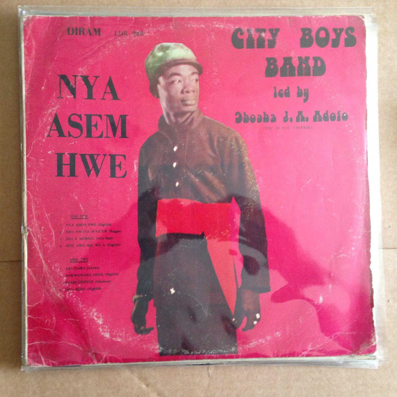 CITY BOYS BAND LP nya asem hwe GHANA AFRO BEAT HIGHLIFE mp3 LISTEN