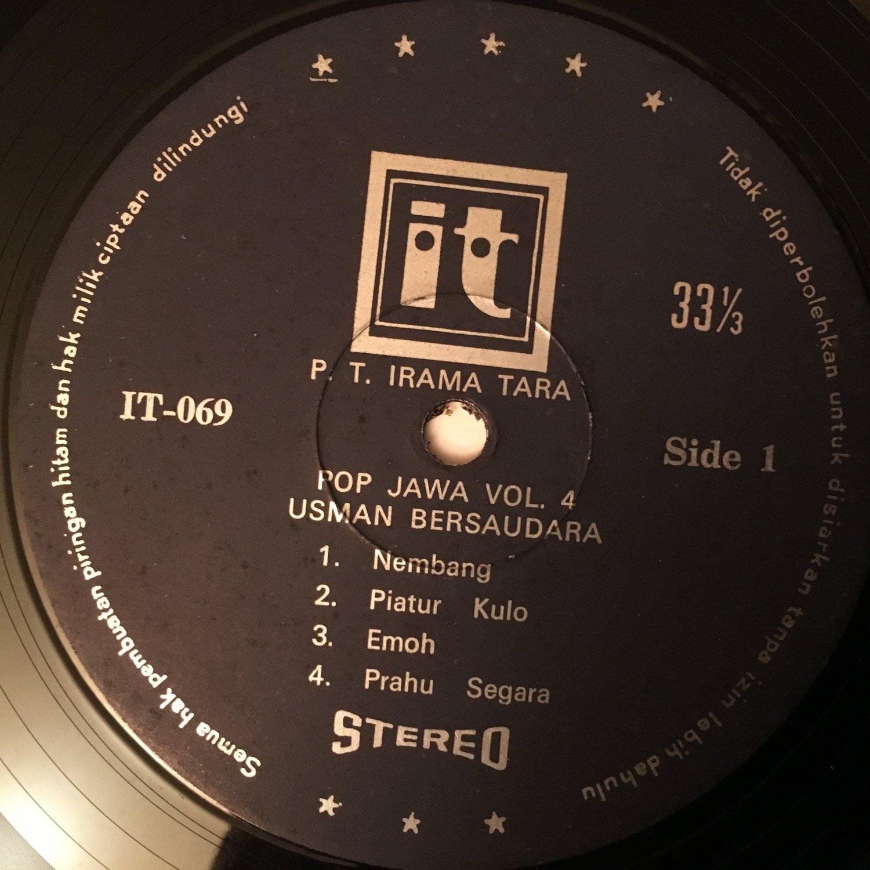 USMAN BERSAUDARA LP pop jawa vo. 4 INDONESIA PSYCH MOOG FUNK POP mp3 LISTEN
