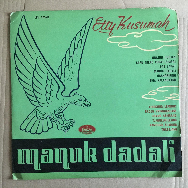 ETTY KUSUMAH LP manuk dadali RARE INDONESIA 60s LATIN KERONCONG SAIFUL BAHRI JACK LEMMERS mp3 LISTEN