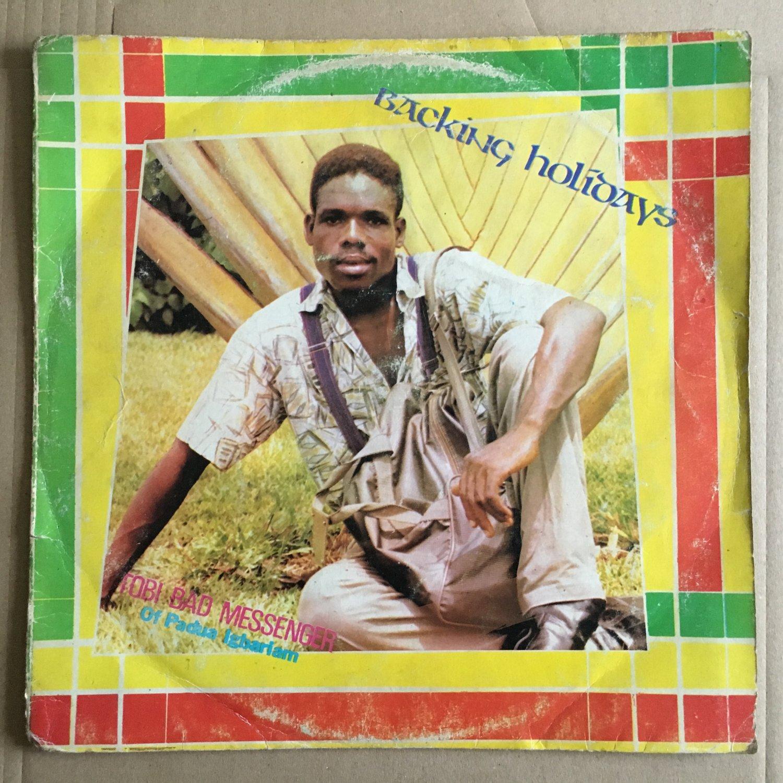 TOBI ONUORAH BAD MESSENGER LP backing holidays NIGERIA REGGAE mp3 LISTEN